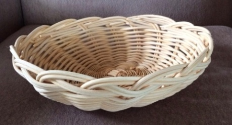 Fruit basket, Rattan
